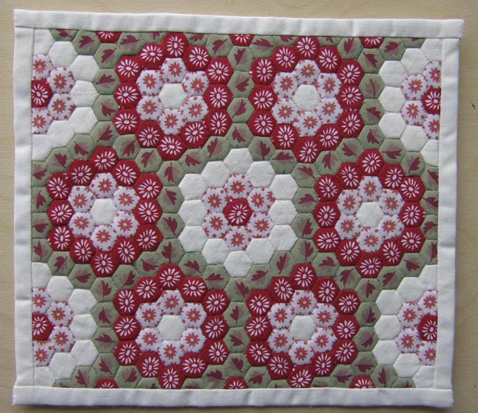 Hexagon patchwork for Quilting hexagon templates free